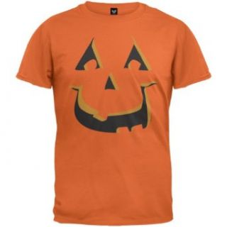 Scary Pumpkin Costume T Shirt: Clothing