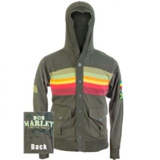 Bob Marley   Buffalo Soldier Military Hoodie Clothing