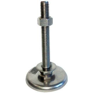 "Sunnex AM Series Stainless Steel Leveling and Anti Vibration Machine Mount, 1/2"" 13 Thread, 4"" Bolt, 500 lbs Load Rating, 4 15/16"" Overall Height: Vibration Damping Mounts: Industrial & Scientific"