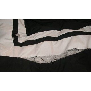 7 Pieces Caprice Black and White Hotel Comforter Bed in a bag Set Full or Double Size Bedding