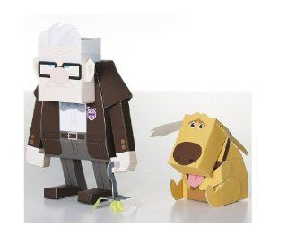 House flying Film Title Carl Disney Pixar Carl & Russel Paper Toy Carl (Disney paper toy series) (japan import) Toys & Games
