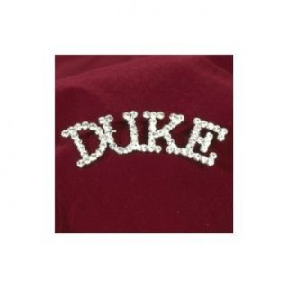 "Sunnywood Rhinestone ""Duke"" Pin: Clothing"