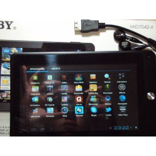 Coby Kyros 7 Inch Android 4.0 4 GB 169 Capacitive Multi Touchscreen Widescreen Internet Tablet with Built In Camera, Black MID7042 4  Tablet Computers  Computers & Accessories