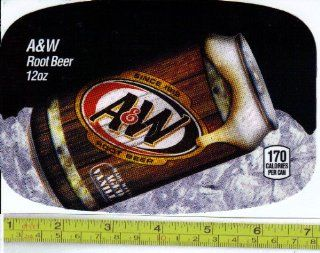 Medium Size Chameleon (Fits Dr. Pepper Machine Size ) A&W Root Beer CAN Soda Vending Machine Flavor Strip, Label Card, Not a Sticker