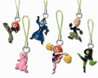 Disney Kim Possible Charms Set of 6 Vending Toys