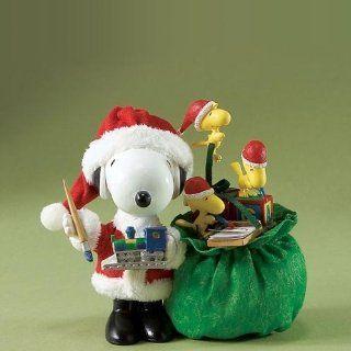Possible Dreams Santa Peanuts Christmas Eve Figurine   Holiday Figurines