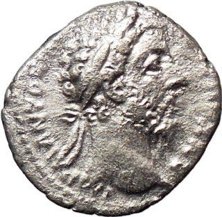Commodus 177AD Silver Ancient Roman Coin Nude Zeus Jupiter Possibly Unpublished: Everything Else
