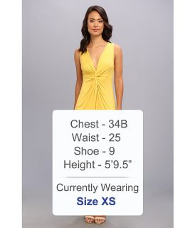 BCBGMAXAZRIA Karen Twisted Front Dress