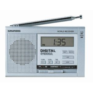 Grundig G1000A AM/FM Shortwave Radio (Discontinued by Manufacturer) Electronics