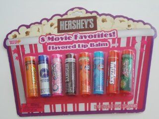 Lotta LUV Hershey's 8 Movie Favorites Flavored Lip Balm Bubble Yum Jolly Rancher and More Health & Personal Care