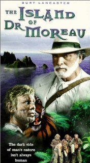 The Island of Dr. Moreau [VHS]: Burt Lancaster, Michael York, Nigel Davenport, Barbara Carrera, Richard Basehart, Nick Cravat, The Great John L., Bob Ozman, Fumio Demura, Gary Baxley, John Gillespie, David S. Cass Sr., Don Taylor, John Temple Smith, Samuel