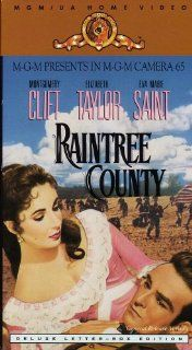 Raintree County (General Release Version Deluxe Letter Box Edition): Montgomery Clift, Elizabeth Taylor, Eva Marie Saint, Nigel Patrick, Lee Marvin, Agnes Moorehead, Rod Taylor, Walter Abel, Edward Dmytryk, Davis Lewis: Movies & TV