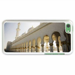 Diy Apple Iphone 5C Religious Sheikh Zayed Grand Mosque Of Family Present White Cellphone Skin For Girl: Cell Phones & Accessories