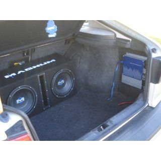"MTX Magnum MB210SP Dual 10"" Enclosure/Amp Combo : Vehicle Subwoofer Systems : Car Electronics"
