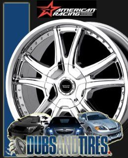 16 Inch 16x7 AMERICAN RACING PERFORM wheels ALERT Chrome wheels rims Automotive
