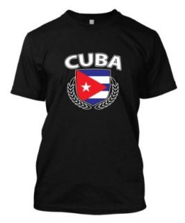 Cuba Cuban Spanish Country Nation Hispanic Island Pride Proud Men's Size T shirt Tee Clothing