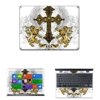 "Decalrus   Matte Decal Skin Sticker for Samsung Series 5 550 Chromebook XE550C22 with 12.1"" Screen (NOTES: Compare your laptop to IDENTIFY image on this listing for correct model) case cover wrap MATSer5_550Chrmbk 225: Electronics"