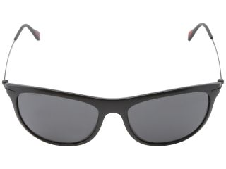 Prada Linea Rossa 0PS 01PS Black Demi Shiny/Grey