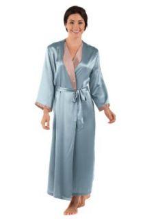 Women's Silk Robe Bathrobe (Bliss) 100% Silk Luxury Gift by TexereSilk at  Women�s Clothing store