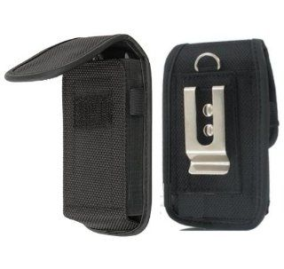 Ballistic Nylon METAL clip Heavy Duty Pouch Carrying Case Flip Top Cover w/ Belt Loop TIGHT fit Holster for HTC ONE X (NOTE: the color of the metal clip may VARY chrome or black) {+ 1pc name tag}    Best Seller on !: Everything Else