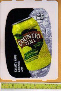 Large HVV High Visability Vendor (Pepsi Machine Size) Country Time Lemonade CAN Soda Vending Machine Flavor Strip, Label Card, Not a Sticker