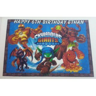 Skylanders Giants Personalized Edible Image: Toys & Games