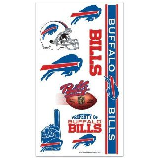 NFL Buffalo Bills Multi Pack Temporary Tattoos : Sports Related Merchandise : Sports & Outdoors