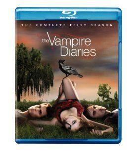 The Vampire Diaries Season 1 [Blu ray] Nina Dobrev, Ian Somerhalder, Paul Wesley Movies & TV