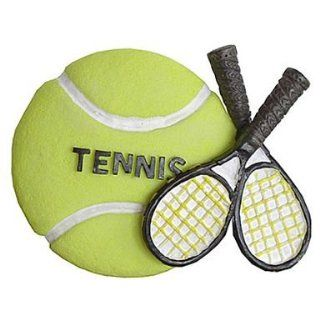 Decorative Tennis Ball & Racquet Magnet : Sports Related Magnets : Sports & Outdoors