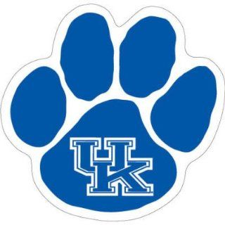 KENTUCKY WILDCATS OFFICIAL PAW LOGO CAR MAGNET : Sports Related Collectibles : Sports & Outdoors