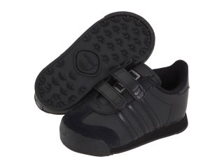 adidas Originals Kids Samoa H&L (Infant/Toddler) Black/Black/Metallic Silver
