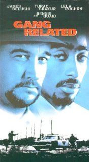 Gang Related [VHS]: James Belushi, Tupac Shakur, Lela Rochon, Dennis Quaid, James Earl Jones, David Paymer, Wendy Crewson, Gary Cole, Terrence 'T.C.' Carson, Brad Greenquist, James Handy, Kool Moe Dee, Jim Kouf, Brad Krevoy, Jeff Ivers, Jeffrey Dow