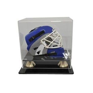 Pittsburgh Penguins Mini Hockey Helmet Display Case, Horizontal View : Sports Related Display Cases : Sports & Outdoors
