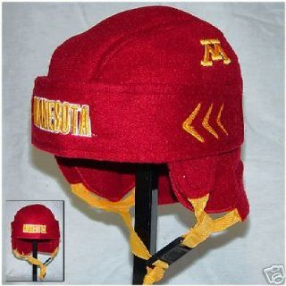 MINNESOTA GOLDEN GOPHERS HOCKEY HELMET HAT CAP NEW FUN  Sports Related Merchandise  Sports & Outdoors