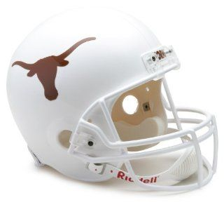 NCAA Texas Longhorns Deluxe Replica Football Helmet : Sports Related Collectible Helmets : Sports & Outdoors