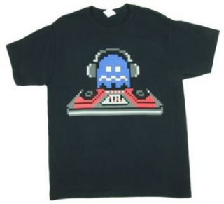 DJ Ghost   Pac Man T shirt: Adult 2XL   Black at  Men�s Clothing store: Fashion T Shirts