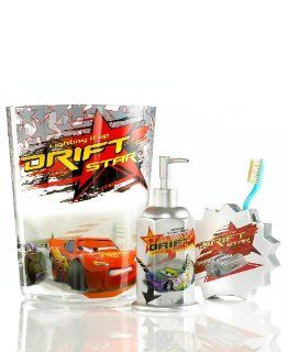 Disney Pixar Cars Lightning McQueen Soap Lotion Pump   Childrens Bathroom Accessory Sets