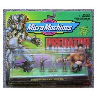 Predator Micro Machines Collection #1: Toys & Games