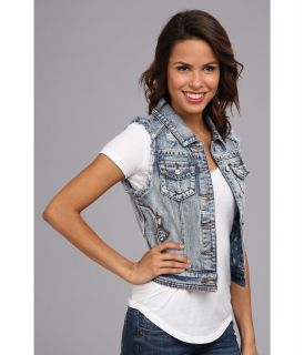 Rock and Roll Cowgirl Denim Vest