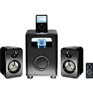 Acoustic Research AR4131 BlackVault Speaker Dock 2.1 (Black)   Players & Accessories
