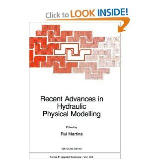 Recent Advances in Hydraulic Physical Modelling (Nato Science Series E: (closed)) (9780792301967): R. Martins: Books