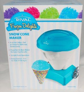 Frozen Delights Blue Snow Cone Maker, Powerful 50 Watt Motor Delivers Fast Results  Other Products