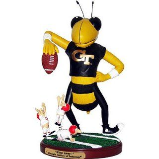 Georgia Tech Yellow Jackets NCAA Keep Away Rivalry Game Figurine NCAA College Athletics Fan Shop Sports Team Merchandise  Sports Related Merchandise  Sports & Outdoors