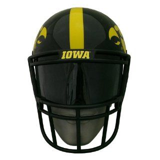 NCAA Iowa Hawkeyes Helmet Style Fan Mask : Sports Related Collectible Helmets : Sports & Outdoors