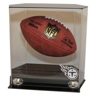 Tennessee Titans Floating Football Display Case : Sports Related Display Cases : Sports & Outdoors