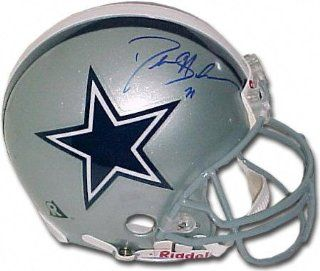 Deion Sanders Dallas Cowboys Autographed Helmet  Sports Related Collectibles  Sports & Outdoors