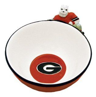 Georgia Bulldogs Mascot Cereal Bowl : Sports Related Collectibles : Sports & Outdoors