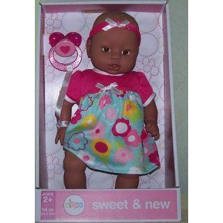 "Circo Sweet & New *Baby Girl* AA 14"" Doll: Toys & Games"