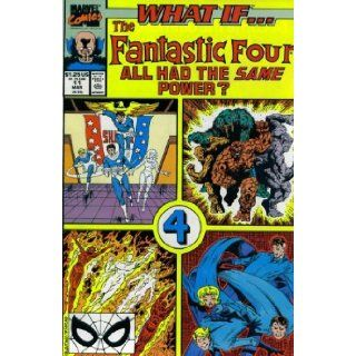 What If? #11 : What If the Fantastic Four All Had the Same Power? (Marvel Comics): Jim Valentino: Books