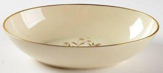 Lenox China Starlight 9 Oval Vegetable Bowl, Fine China Dinnerware   Brown Flow